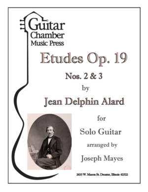 Cover of Etudes Op. 19 Nos 2 & 3