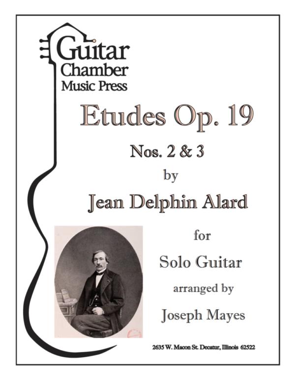 Cover of Etudes Op. 19 Nos 2 & 3