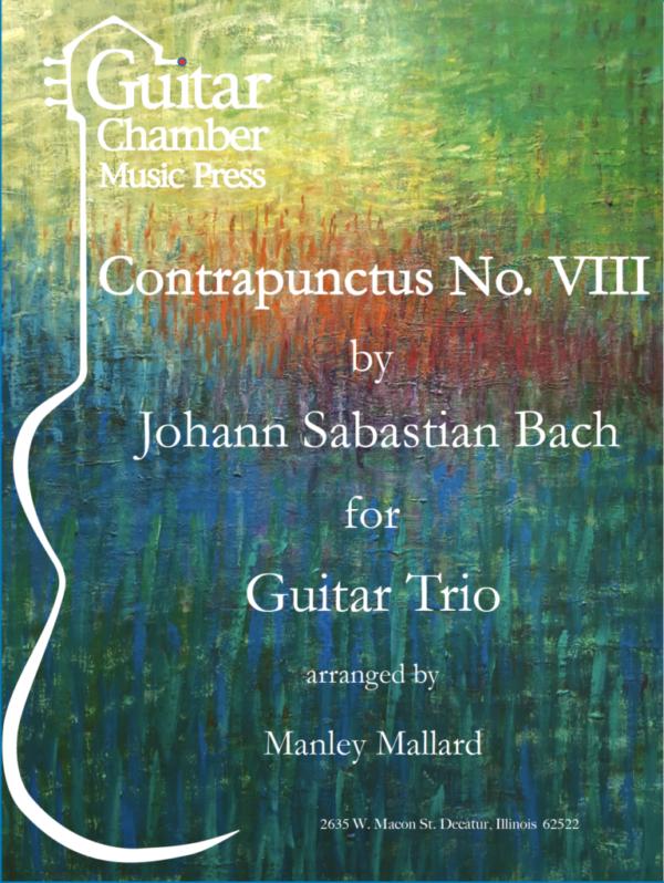 Score of Contrapunctus No. VIII