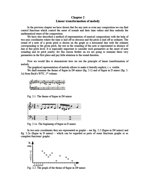 Page from Chapter 2 from Music Theory: A New Approach Introduction to Analysis of Musical Forms