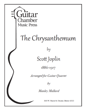 Cover of The Chrysanthemum Score