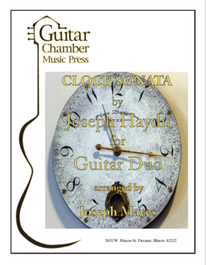 Cover of Clock Sonata