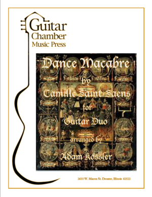 Cover of Dance Macabre