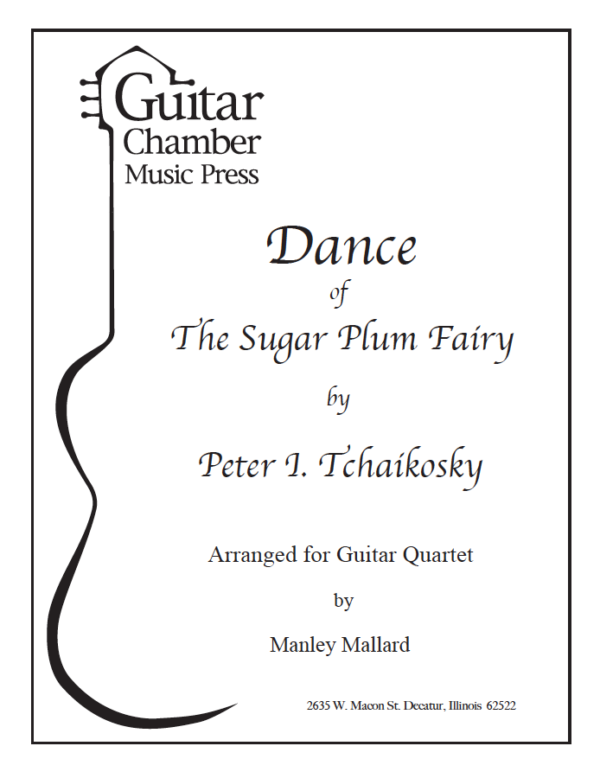 Cover of Dance of The Sugar Plum Fairy