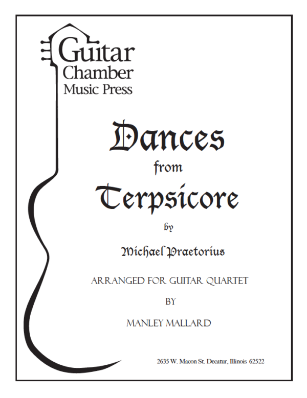 Cover of Dances from Terpsicore