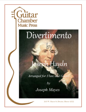 Cover of Divertimento Score