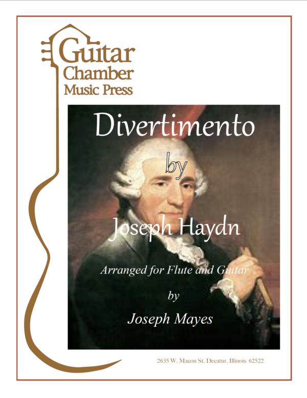 Cover of Divertimento Score