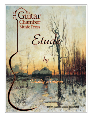 Cover of Etude Score