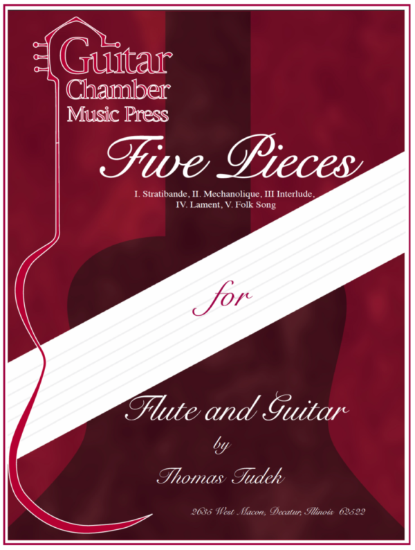 Cover of Five Pieces