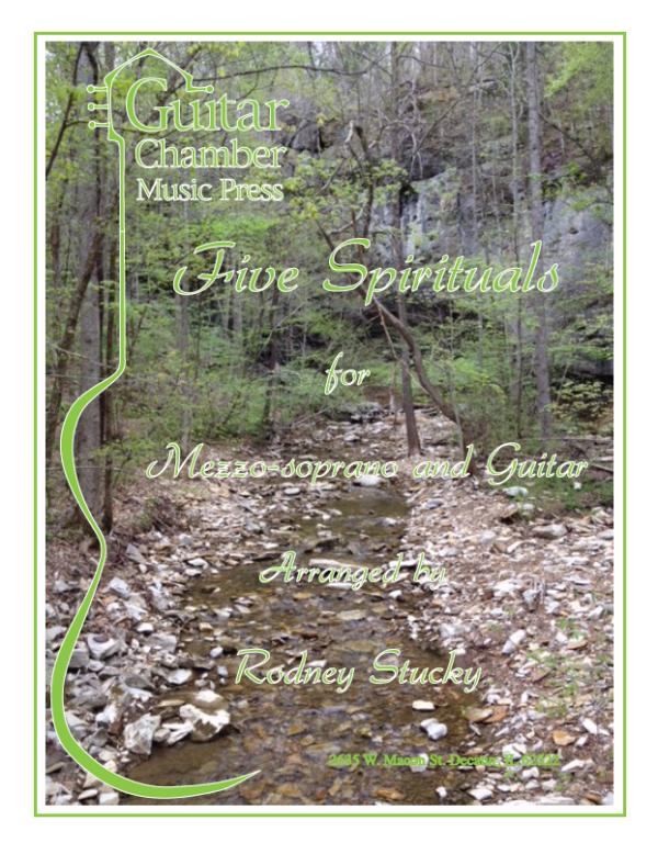 Cover of Five Spirituals Score