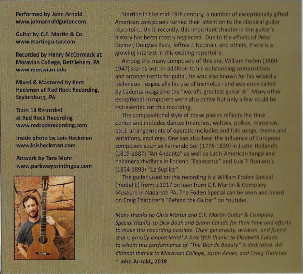 Liner Notes from Album The Wizard