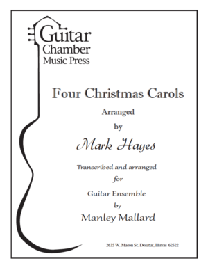 Cover of Four Christmas Carols Score
