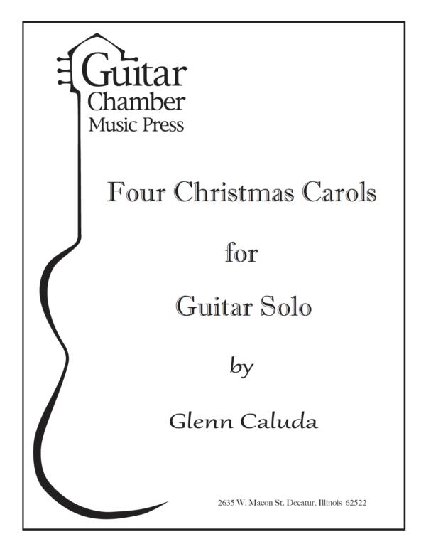 Cover of Four Christmas Carols Score