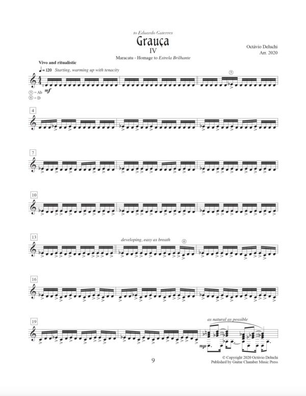 Score of Garuca