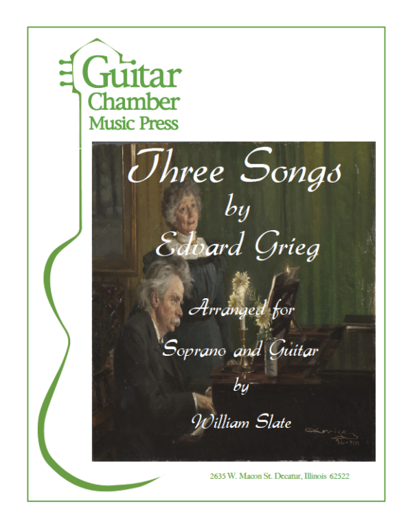 Cover of Three Songs Scores