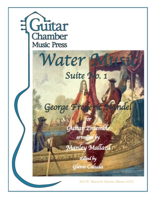 Cover of Water Music Suite No. 1