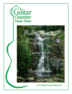 Cover of Suite Homage