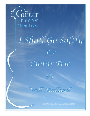 Cover of I Shall Go Softly