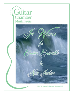 Cover of In Waves Score