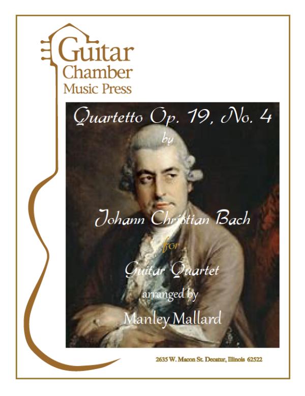 Cover of Quartetto Op. 19 No. 4