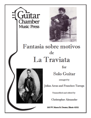 Cover of Fantasia Sobre Motivos de La Traviata
