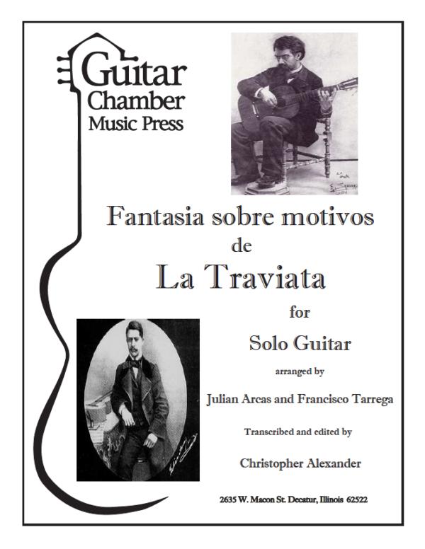 Cover of Fantasia Sobre Motivos de La Traviata