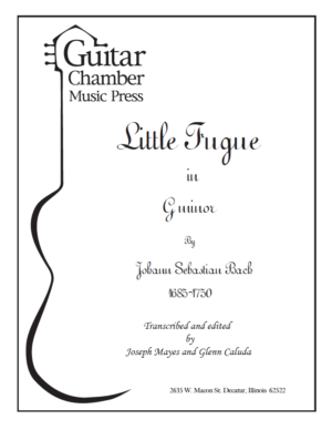 Cover of Little Fugue Score