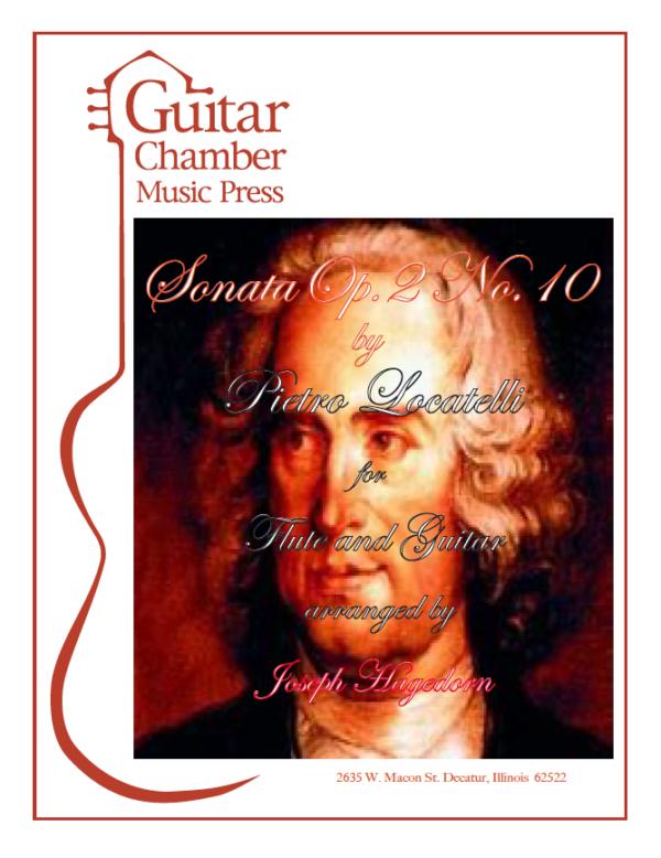 Cover of Sonata Op. 2 No. 10