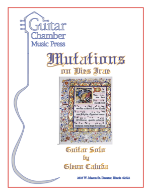 Cover of Mutation on Dies Irae