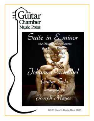 Cover of Suite in E minor