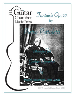 Cover of Fantasia Op. 16