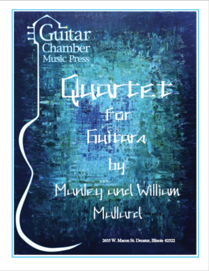 Cover of Quartet for Guitars