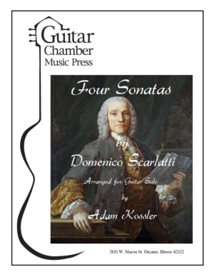 Cover of Four Sonatas
