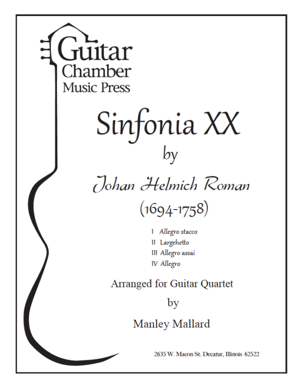 Cover of Sinfonia XX