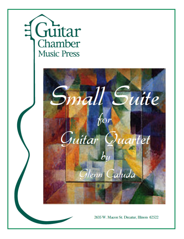 Cover of Small Suite Score