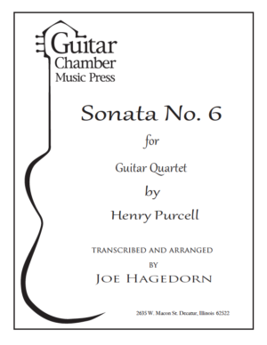 Cover of Sonata No. 6