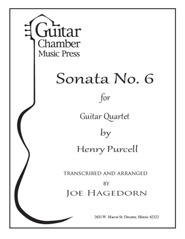Cover of Sonata No. 6