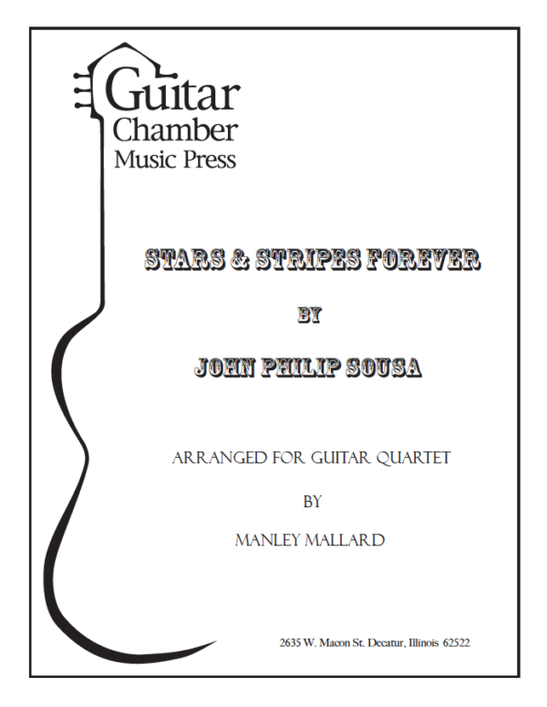Cover of Star & Stripes Forever Score