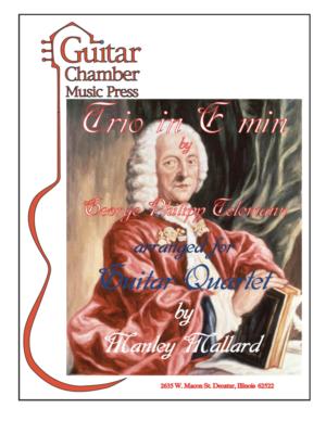 Cover of Trio in E Minor