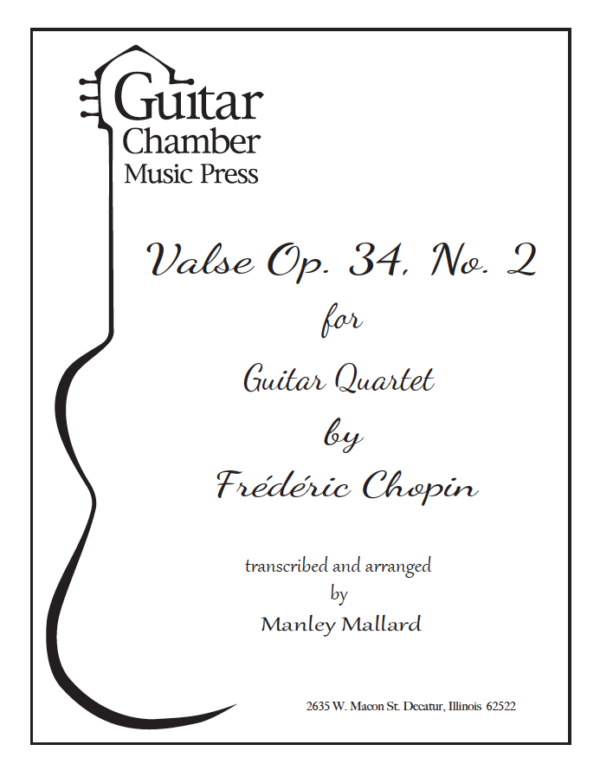 Cover of Valse Op. 34 No. 2