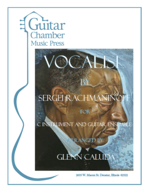 Cover of Vocalise Score