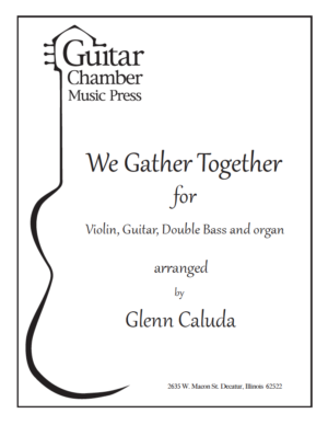 Cover of We Gather Together Score