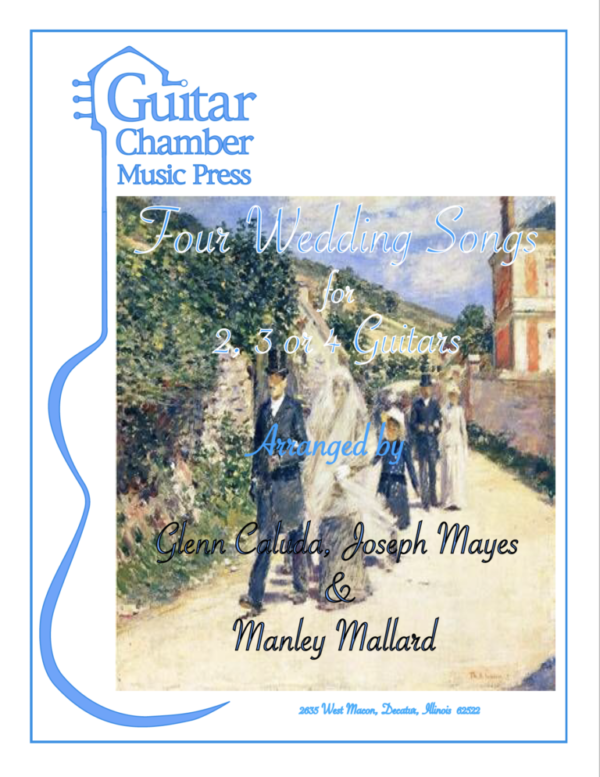 Cover of Four Wedding Songs