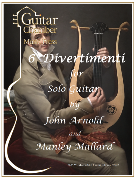 Cover of 6 Divertimenti Score