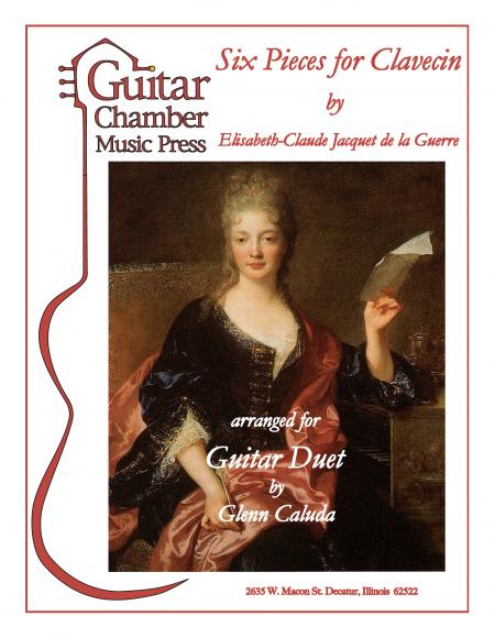 6 Pieces by Elisabeth Jaquet de La Guerre Cover