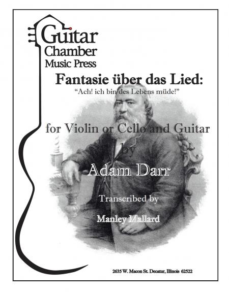 Adam Darr Cover